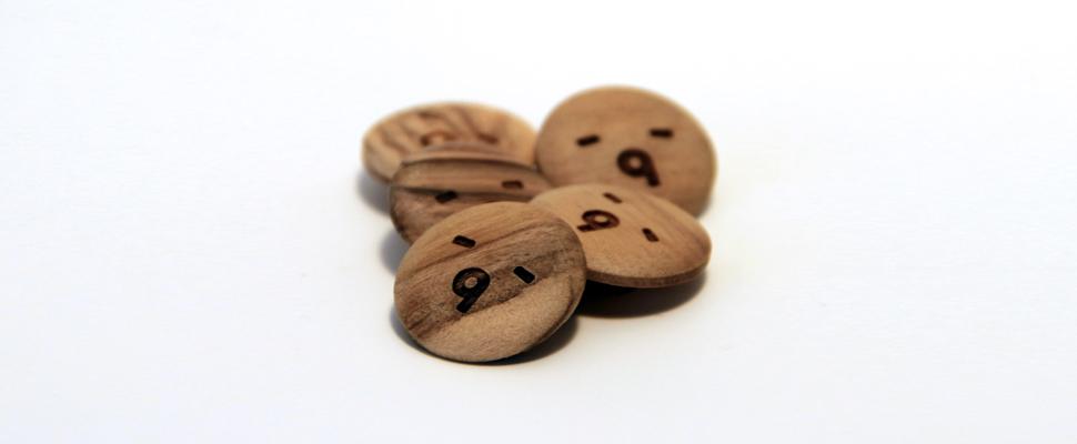 Botones de olivo