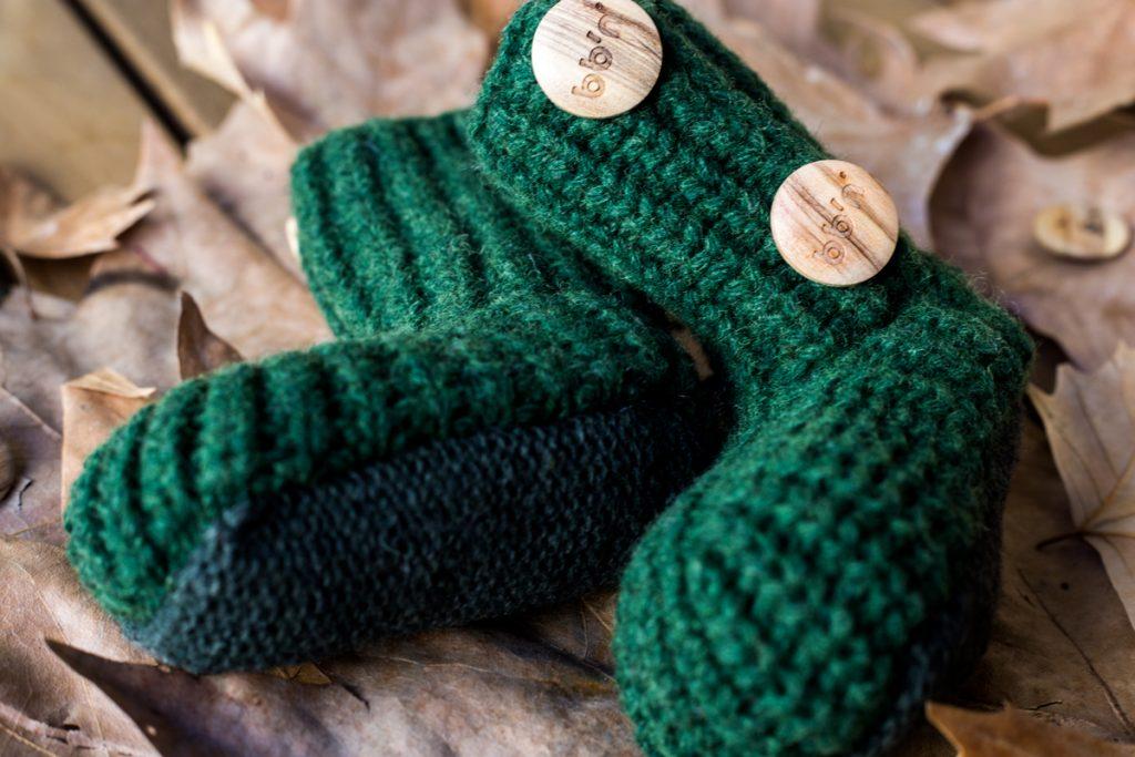 patucos de lana para bebés